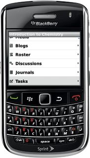 Blackboard Mobile Learn for BlackBerry